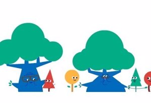Doodle de Google para celebrar el Día de los Abuelos
