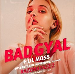 Bad Gyal actuarà a la sala Razzmatazz 2 el 4 de novembre (BAD GYAL )