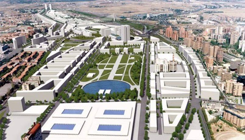 Carmena, Fomento y DCN presentan este jueves las bases de la operación Chamartín, rebautizada como 'Madrid Nuevo Norte'