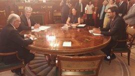 Montoro se compromete con Baleares a tener consensuado un proyecto de REB a finales de año