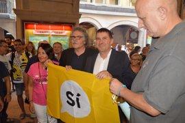 Otegi asegura que los vascos también se juegan sus libertades el 1 de octubre