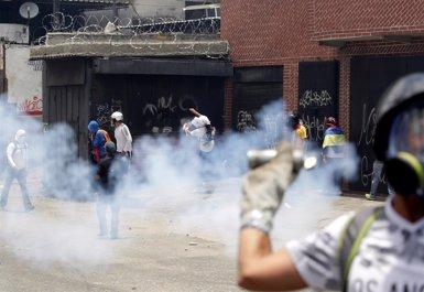 La primera jornada de la vaga opositora a Veneçuela deixa dos morts i 159 detinguts (Europa Press)