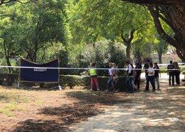 Hallan en un parque de Sevilla el cuerpo de una mujer de 39 años calcinado de la cintura a los pies