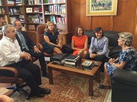 Rosa Aguilar se reunirá en septiembre con el alcalde de Jaén para abordar la Ciudad de la Justicia