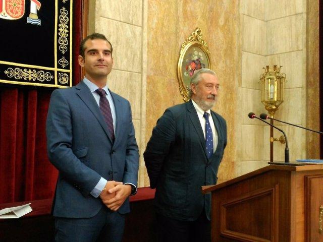 El alcalde de Almería y el secretario de Estado de Infraestructuras