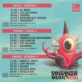 Sorteamos dos abonos dobles para el Santander Music Festival 2017
