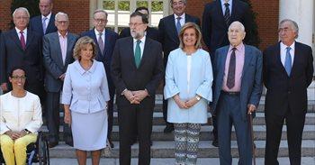 Rajoy entrega la Medalla de Oro al Mérito en el Trabajo a Gasol y María Teresa Campos, entre otros