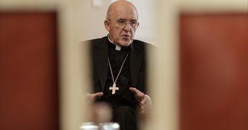 """El arzobispo Carlos Osoro dice """"stop"""" a la violencia machista y valora positivamente el consenso político"""
