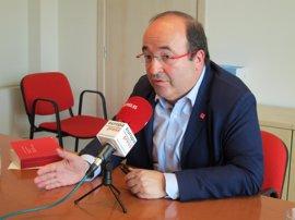 El PSC descarta impugnar ante el TC la reforma del reglamento del Parlament