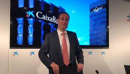 CaixaBank respon davant la conjuntura política que el seu pla és seguir centrat en el seu negoci
