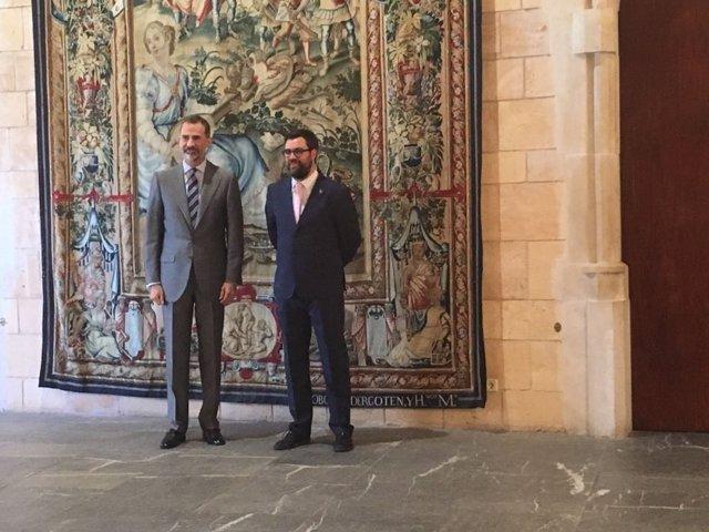 Image result for piden al rey abrir es forti al publico