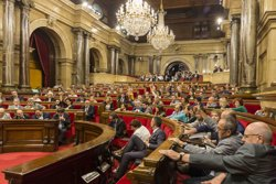 El Parlament aprova la primera part de la llei de la hisenda catalana (EUROPA PRESS)