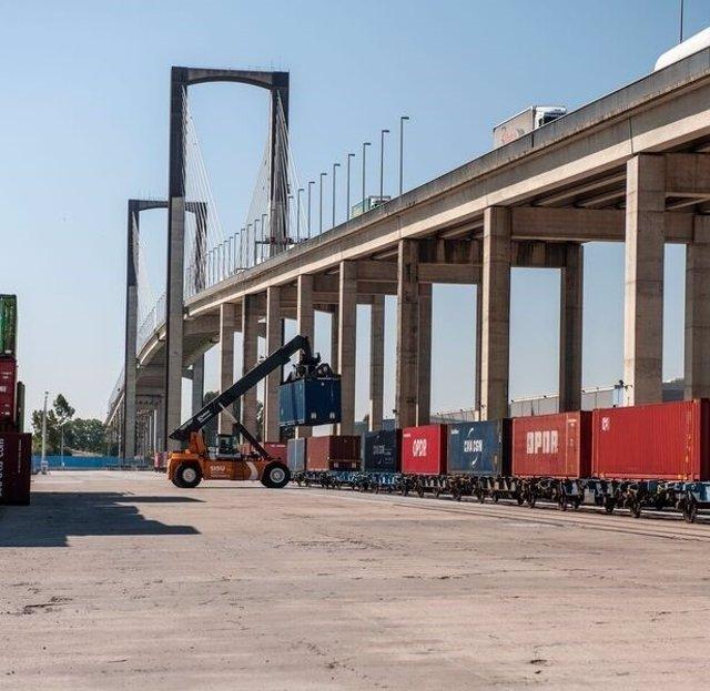 El Puerto de Sevilla cierra la financiación para el nuevo acceso ferroviario