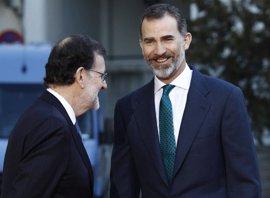 El Rey recibirá a Rajoy en el Palacio de Marivent el 7 de agosto