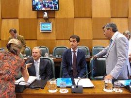PP, PSOE y Cs piden un informe de la UZ sobre la auditoría de los costes del tranvía