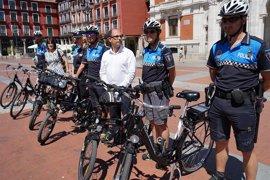 Valladolid estrena Policía Municipal en bicicleta