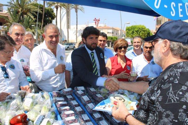 Fotos / El Presidente De La Comunidad Inaugura La Campañ A Del Scrats 'Saborea E