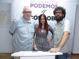 """Podemos insta a los grupos municipales a investigar la posible """"corrupción"""" del PP en el Ayuntamiento cordobés"""