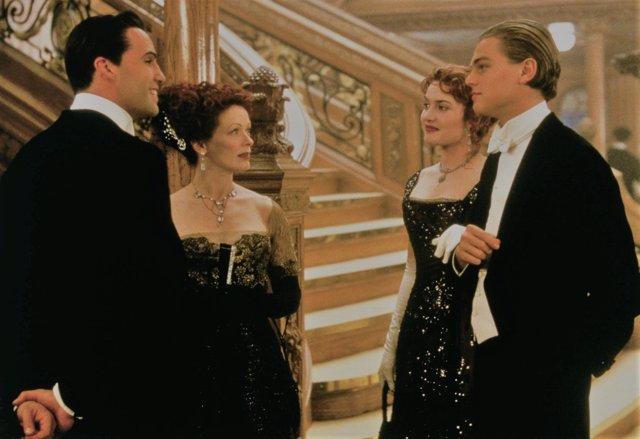 Zane, DiCaprio, y Winslet