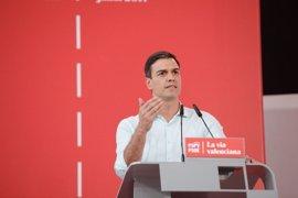 """Sánchez insta a abordar la cuestión catalana como una """"gran avenida de diálogo"""" frente a la vía """"unilateral"""""""