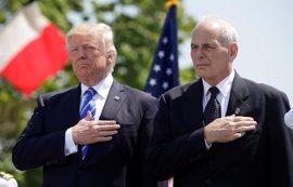 """Kelly expresa que es """"un honor"""" ser elegido para ocupar el puesto de jefe de Gabinete de Trump"""