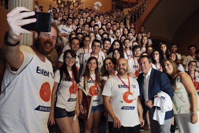 Encuentro Nacional de estudiantes de matemáticas en Sevilla