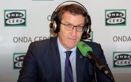 """Feijóo: """"Los gallegos no estamos muy satisfechos con los plazos del AVE"""""""