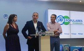 """PP-A: Díaz """"ha convocado congreso de emergencia para que el 'sanchismo' no tenga tentación de moverle el sillón"""""""