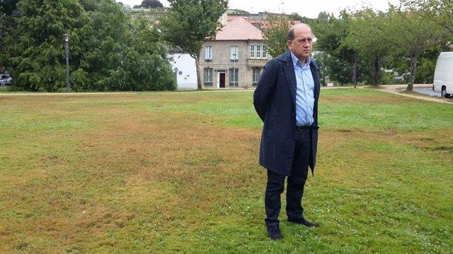 O portavoz parlamentario do PSdeG, Xoaquín Fernández Leiceaga