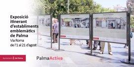 La exposición fotográfica de establecimientos emblemáticos de Palma se traslada a Vía Roma