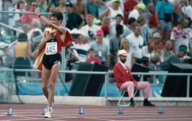 Daniel Plaza gana el oro en Barcelona'92