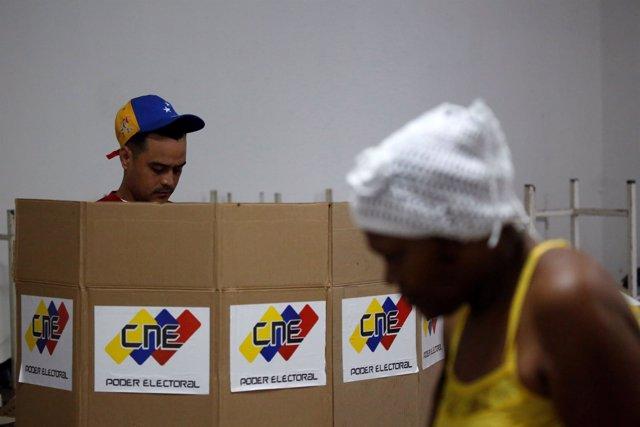 Votación en las elecciones a la Asamblea Nacional Constituyente de Venezuela
