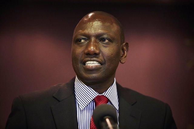 El vicepresidente keniano, William Ruto.