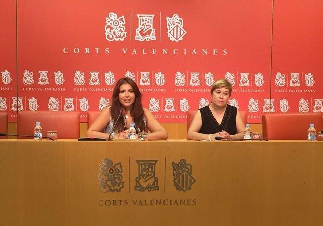 Mari Carmen Sánchez y Mercedes Ventura