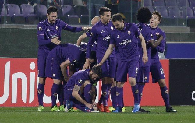 La Fiorentina vence en un partido loco de la Serie A