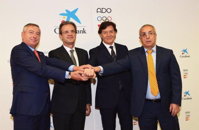 Caixabank renueva su apoyo a la Asociación de Deportes Olímpicos