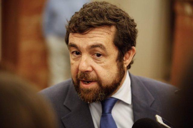 El secretario general del grupo de Ciudadanos en el Congreso, Miguel Gutiérrez