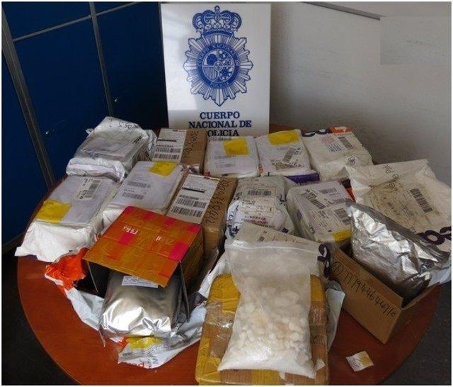 La Policía Nacional Interviene 33 Kilos De Nuevas Sustancias Psicoactivas Proced