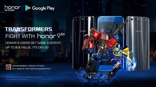 Transformers: Forjados para la lucha y Honor 9