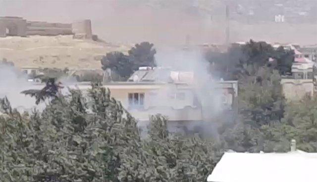 Atentado contra le Embajada de Irak en Kabul