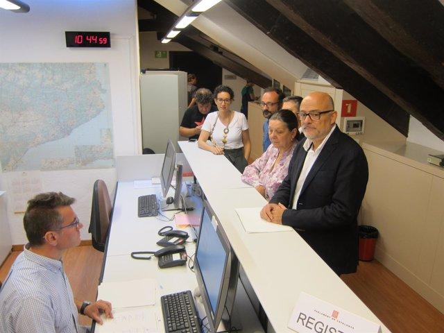 M.Rovira, B.Salellas, J.Orobitg, G.Serra y Ll.Corominas