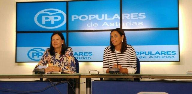 Susana López Ares y Marifé Gómez.