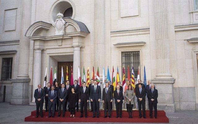 Conferencia de Presidentes este martes en Madrid
