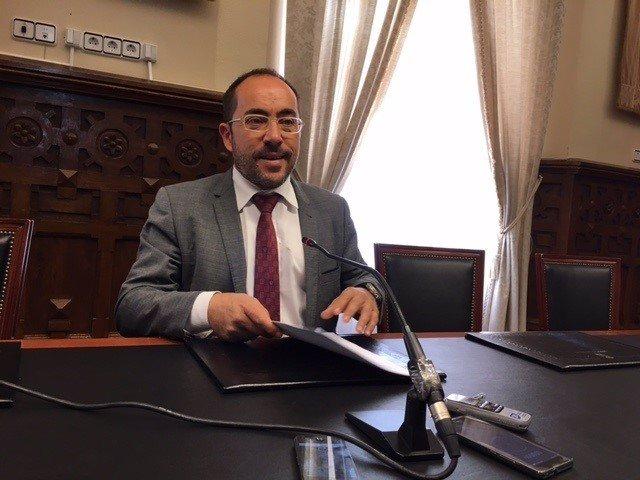 Luis Rey, presidente de la Diputación de Soria.