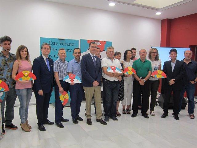 Acto presentación de la Feria de Murcia 2017