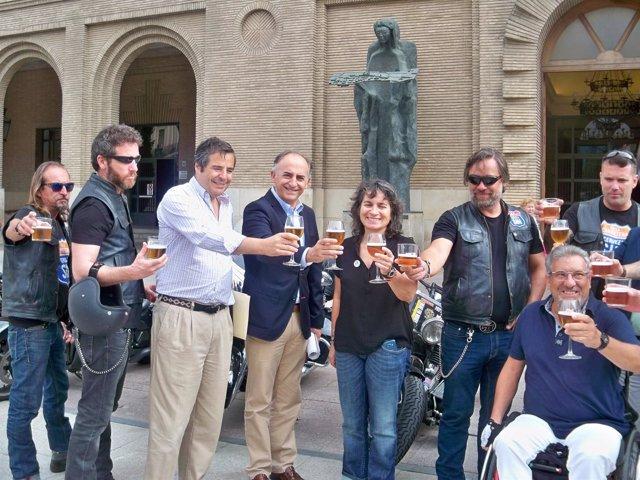 Presentación de la campaña 'En la carretera, cerveza SIN'
