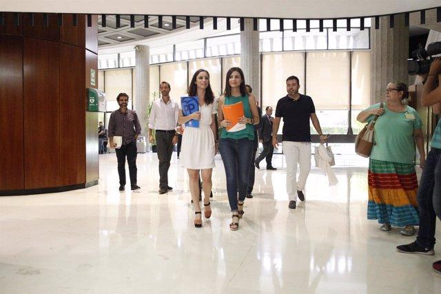 Andrea Levy y Lorena Roldán presentan recurso contra la Reforma del Parlament