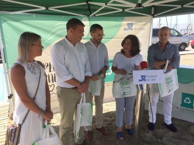 Campaña de concienciación de playas de Diputación