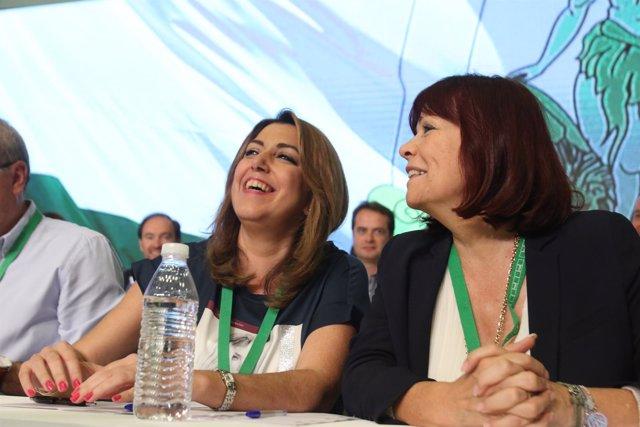Susana Díaz y Micaela Navarro