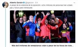Alberto Garzón compara a la oposición venezolana con el golpe de Pinochet en Chile en 1973